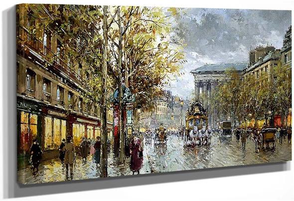 Boulevard De La Madeleine 1 By Antoine Blanchard