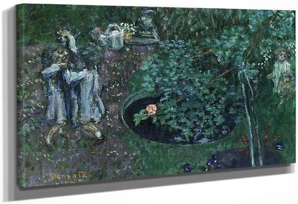 Children Playing In A Garden 1899 By Pierre Bonnard