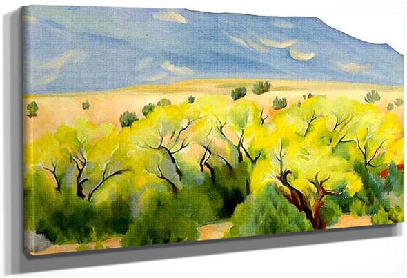 Cottonwood Iii By Georgia O Keeffe