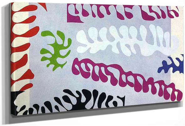 Cut Outs 1 By Henri Matisse