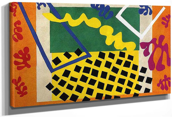 Cut Outs 3 By Henri Matisse