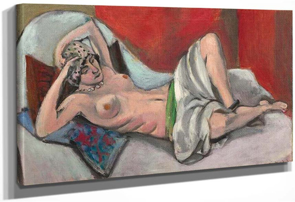 Draped Nude By Henri Matisse