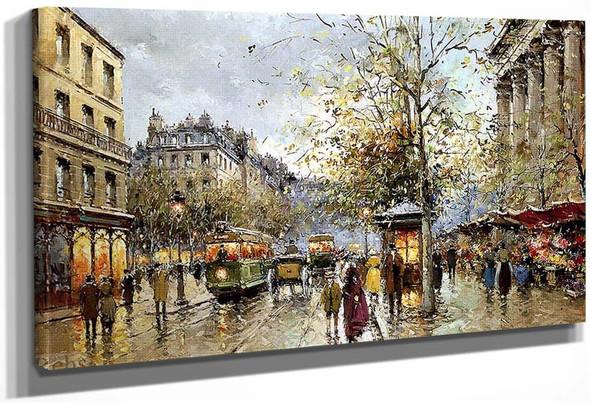Flower Market Madeleine 1 By Antoine Blanchard