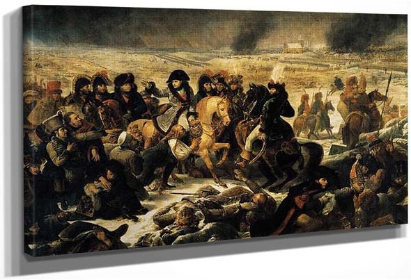 Napoleon Bonaparte On The Battlefield Of Eylau 1807 By Gros Antoine Jean