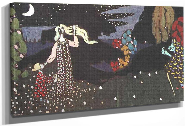 Night 1907 By Wassily Kandinsky