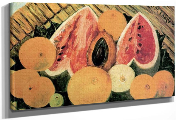Still Life With Watermelons By Frida Kahlo