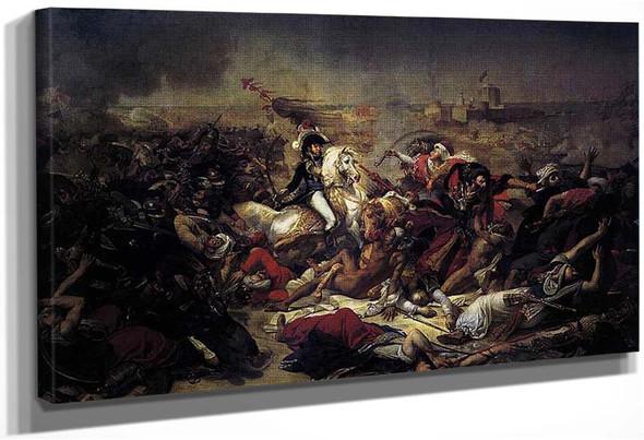 The Battle Of Abukir By Gros Antoine Jean
