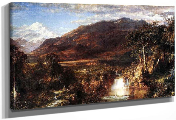 The Heart Of The Andes By Church Frederic Edwin