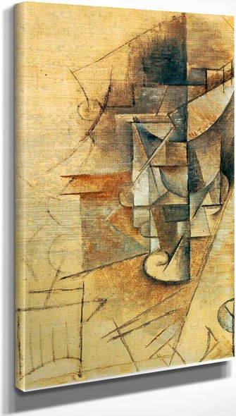 A Glass 1911 By Pablo Picasso