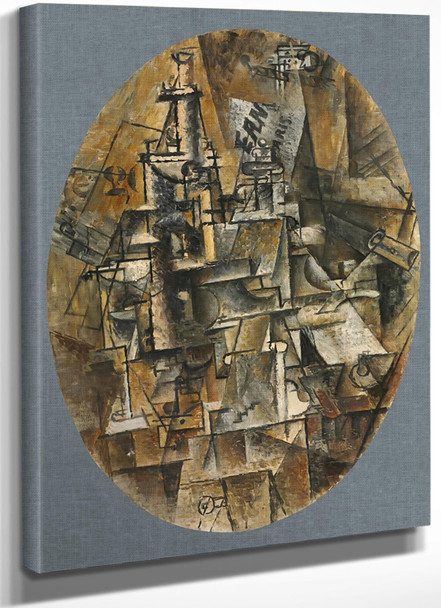 1912 Bottle Glass Fork by Picasso