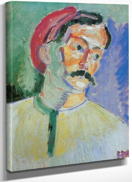 Andre Derain by Henri Matisse