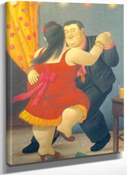 Dancers by Botero
