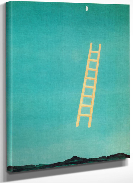 Ladder To The Moon by Georgia O Keeffe