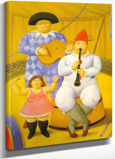 Musicians 2 by Botero