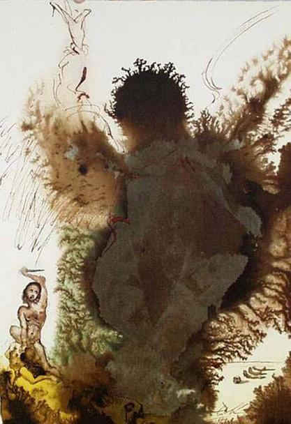 Abraham Abraham Genesis 22 2 1967 By Salvador Dali Art Reproduction from Wanford