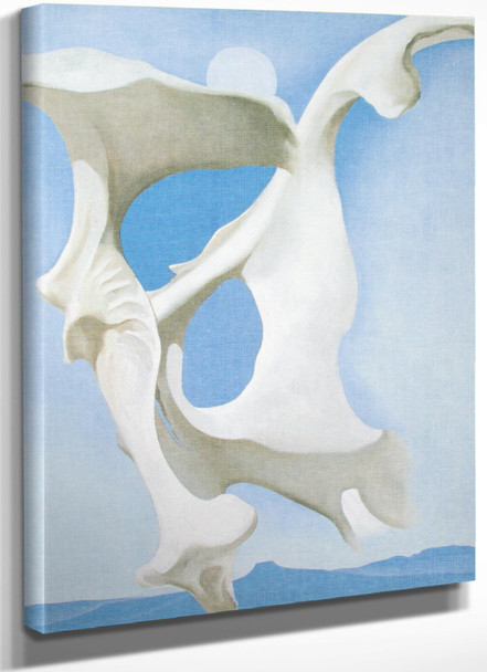 Pelvis With The Moon by Georgia O Keeffe