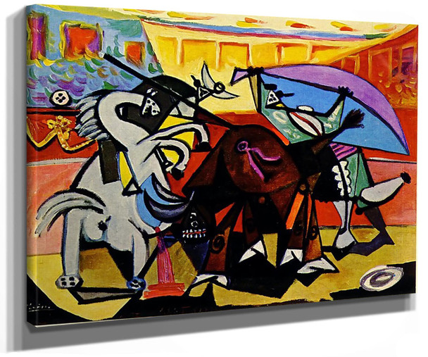 A Bullfight by Picasso