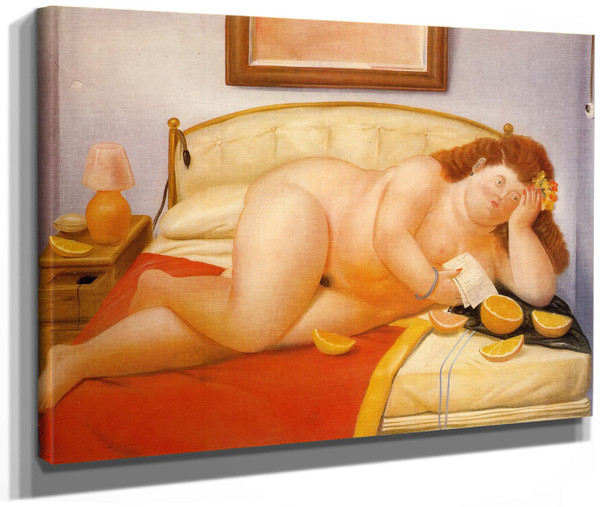 The Letter by Botero