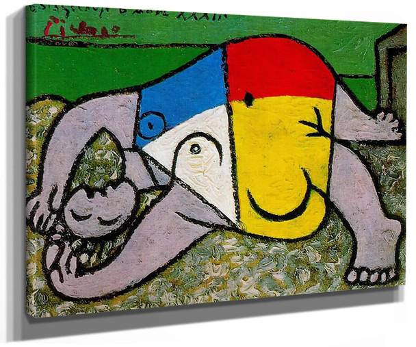 Woman On The Beach by Picasso