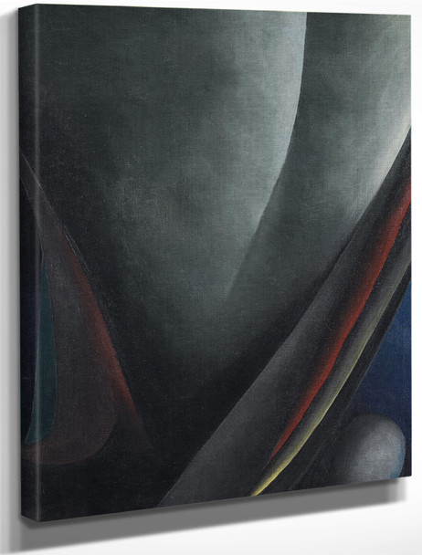 Abstraction Blind I 1921 by Georgia O Keeffe