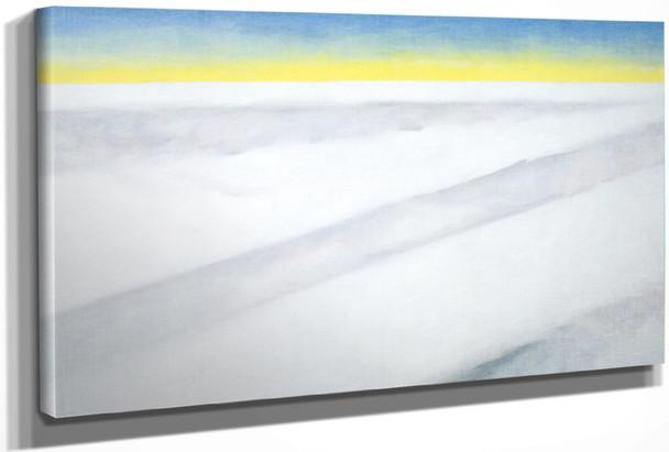 Above Clouds Again by Georgia O Keeffe