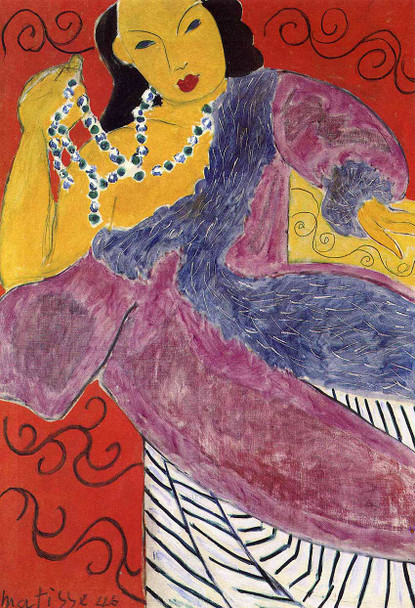 Asia 1946 By Henri Matisse Art Reproduction from Wanford