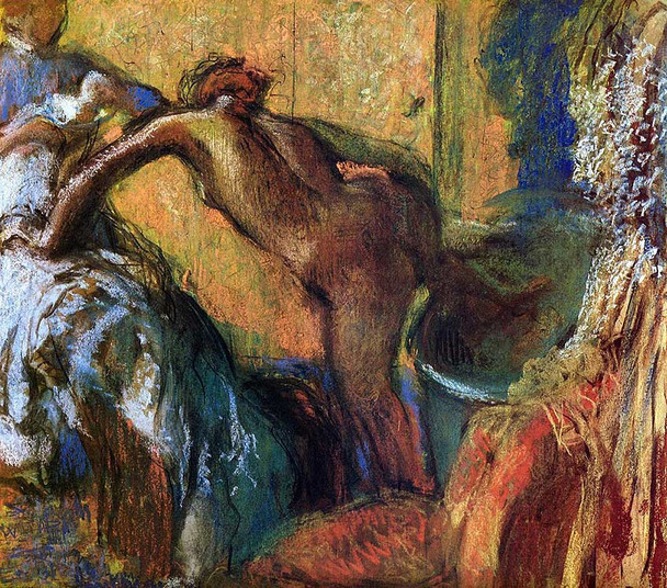 After The Bath 6 By Edgar Degas Art Reproduction from Wanford.
