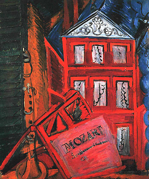 Hommage To Mozart 1915 By Dufy Raoul Art Reproduction from Wanford