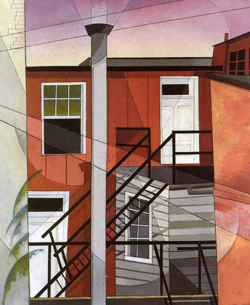 Modern Conveniences By Charles Demuth Art Reproduction from Wanford