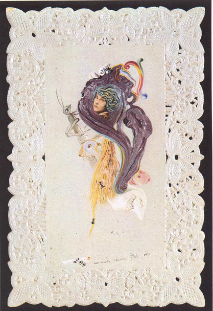 Portrait Of Gala By Salvador Dali Art Reproduction from Wanford