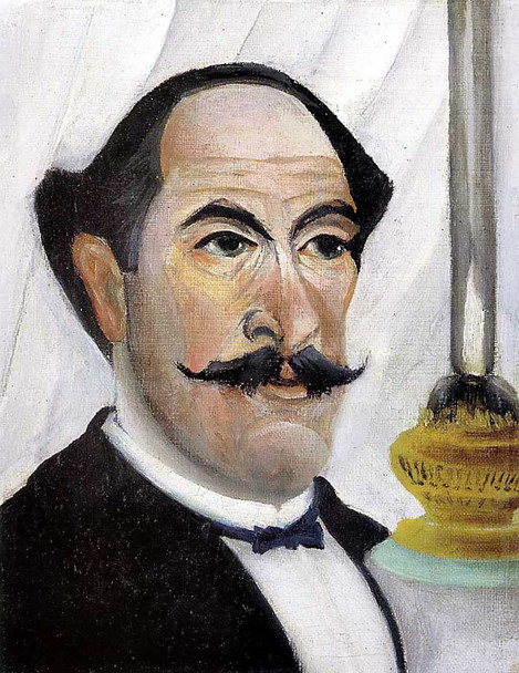 Self Portrait 1900 By Henri Rousseau Art Reproduction from Wanford
