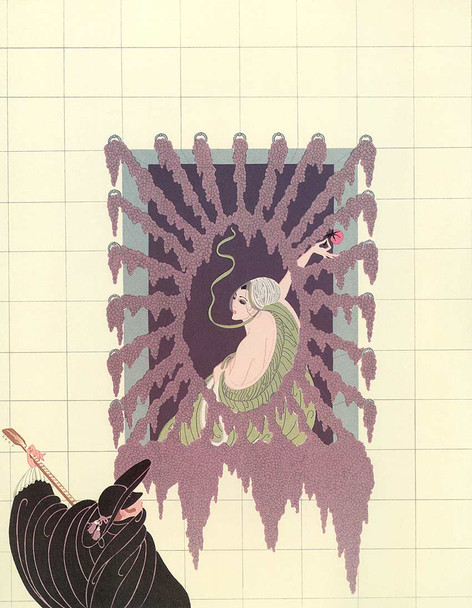 Serenade By Erte Art Reproduction from Wanford