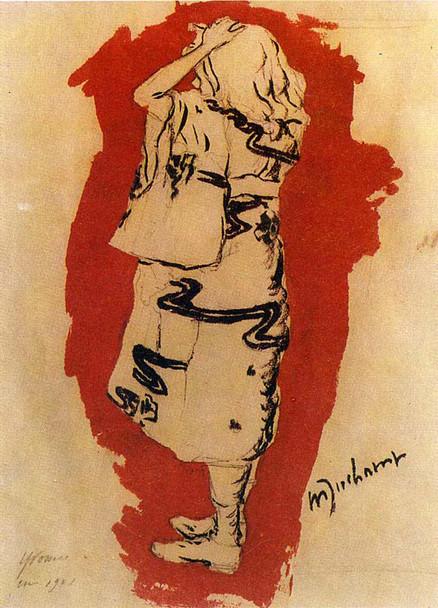 Yvonne In Kimono 1901 By Duchamp Marcel Art Reproduction from Wanford