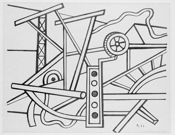 Agricultural Machinery 1953 By Fernand Leger