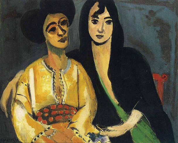 Aicha And Laurette 1917 By Henri Matisse