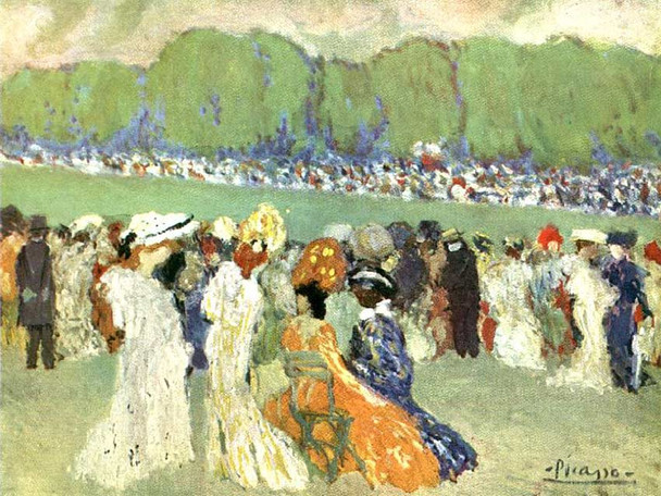 Longchamp 1901 By Pablo Picasso