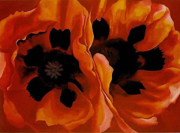 Oriental Poppies By Georgia O Keeffe