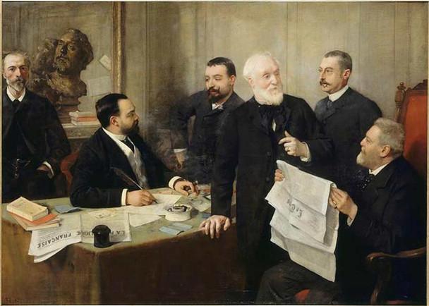 Portrait Of Jules Roc 1890 By Henri Rousseau