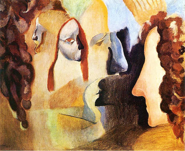 Yvonne And Magdeleine Torn In Tatters 1911 By Duchamp Marcel