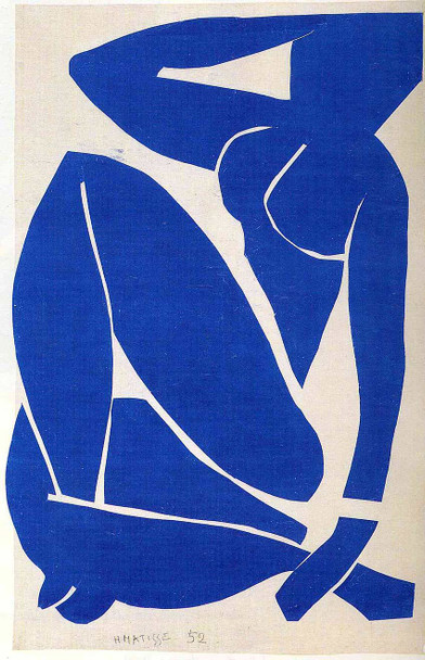 Blue Nude By Henri Matisse Art Reproduction from Wanford