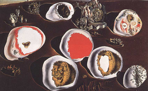 Accommodations Of Desire By Salvador Dali