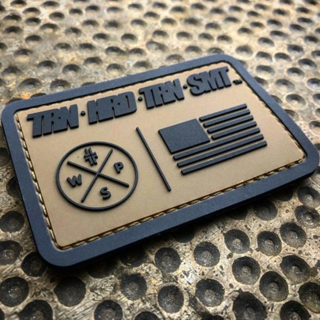 Train Hard Patch - PVC