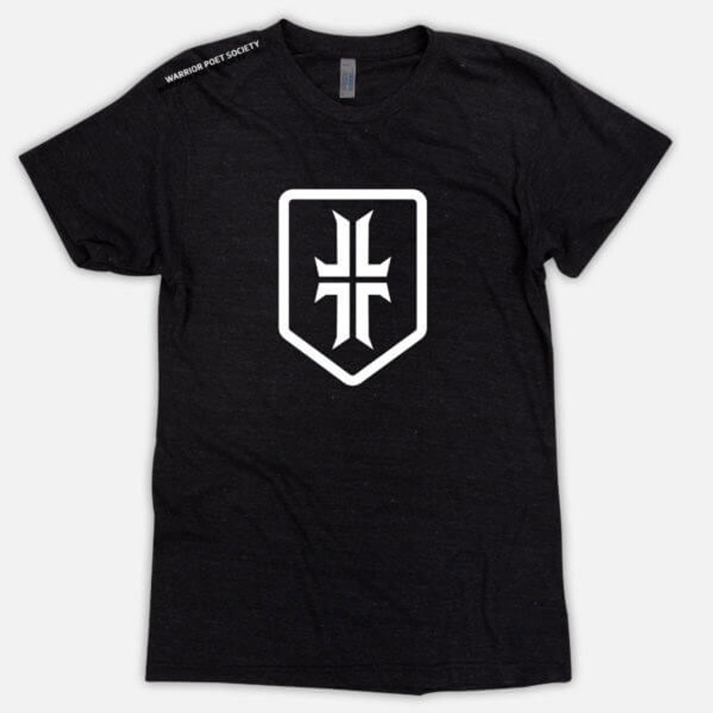 Shield T-Shirt - Black / White