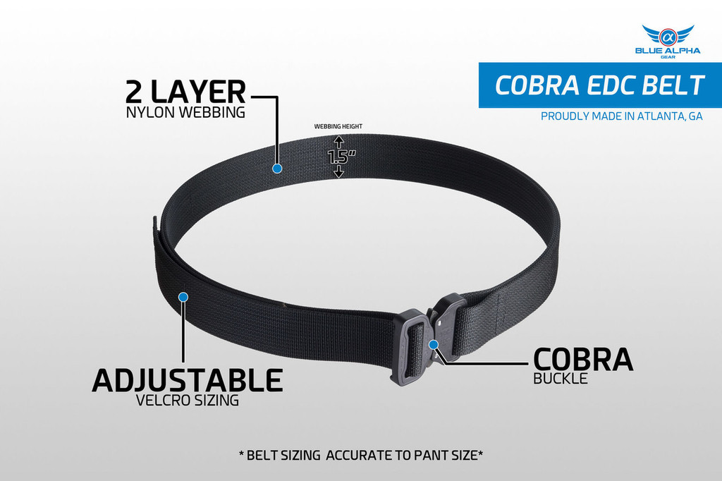 COBRA® EDC Belt