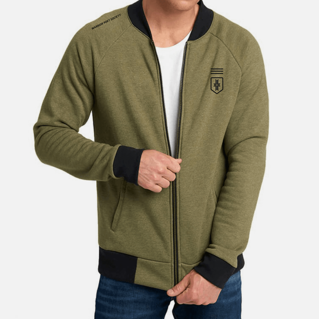 Society Bomber - Military Green