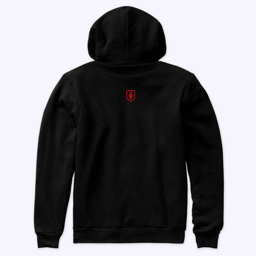 Zero Hoodie - Heather Black