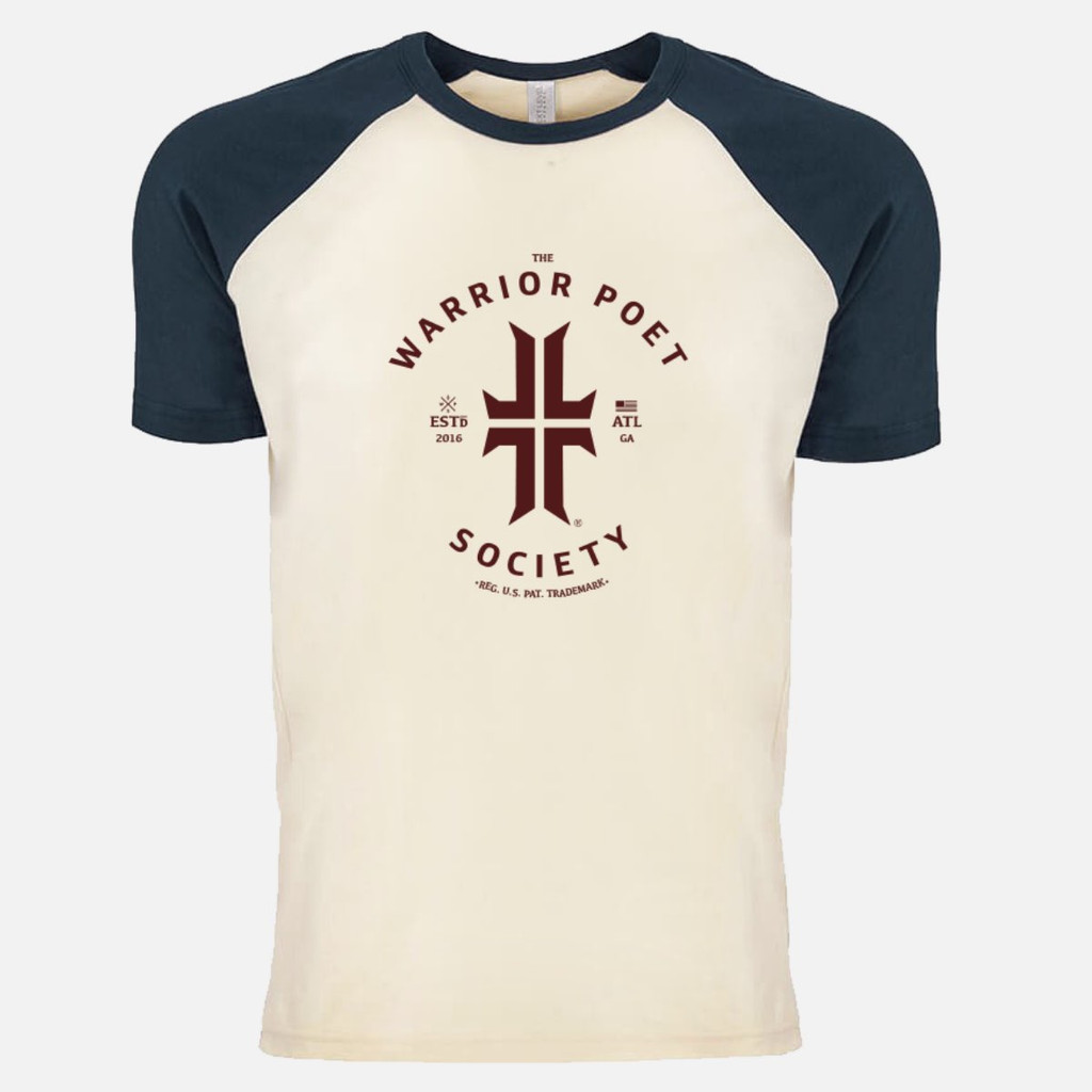 Trademark T-Shirt - Raglan Edition -  Navy / Maroon
