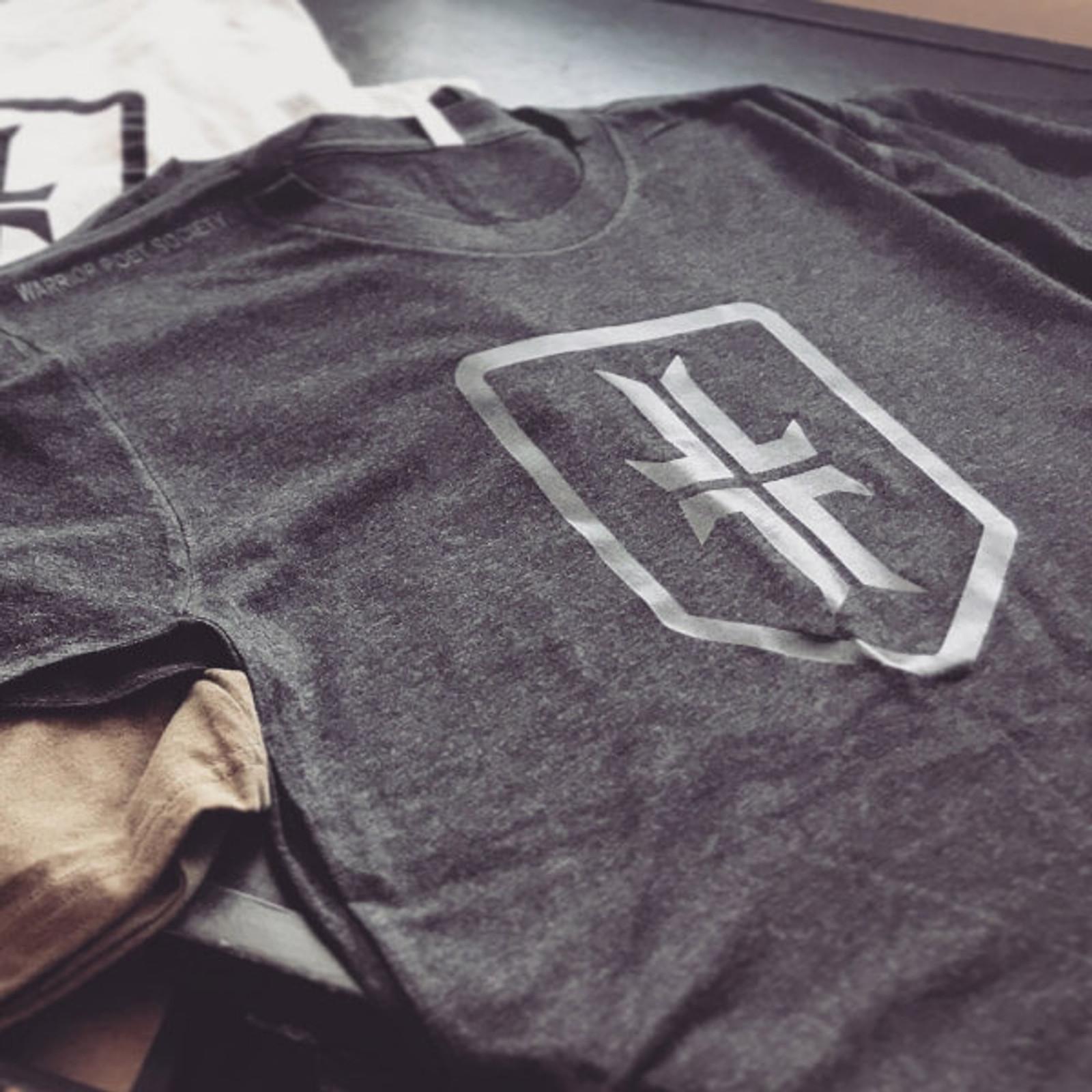 Shield T-Shirt - Dark Grey/ Black