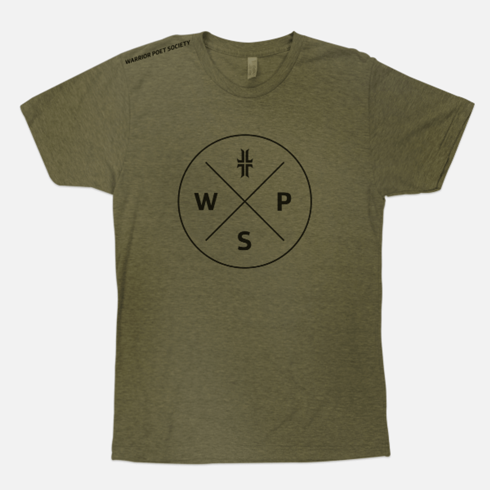 Badge T-Shirt - Green / Black