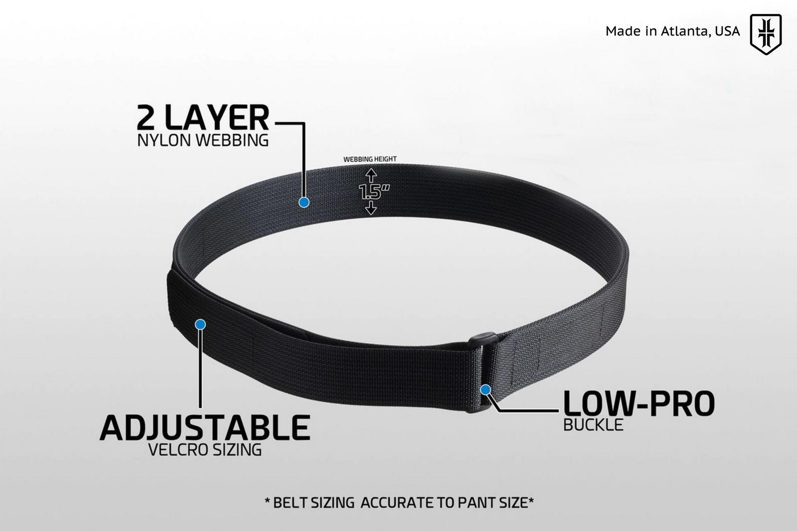 Low Profile EDC Belt